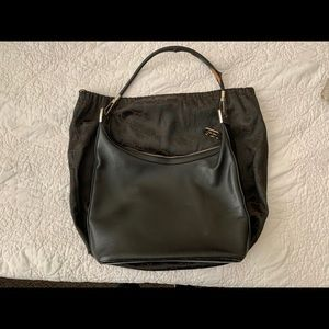 Gucci Hobo Signature Leather Bag (vintage)